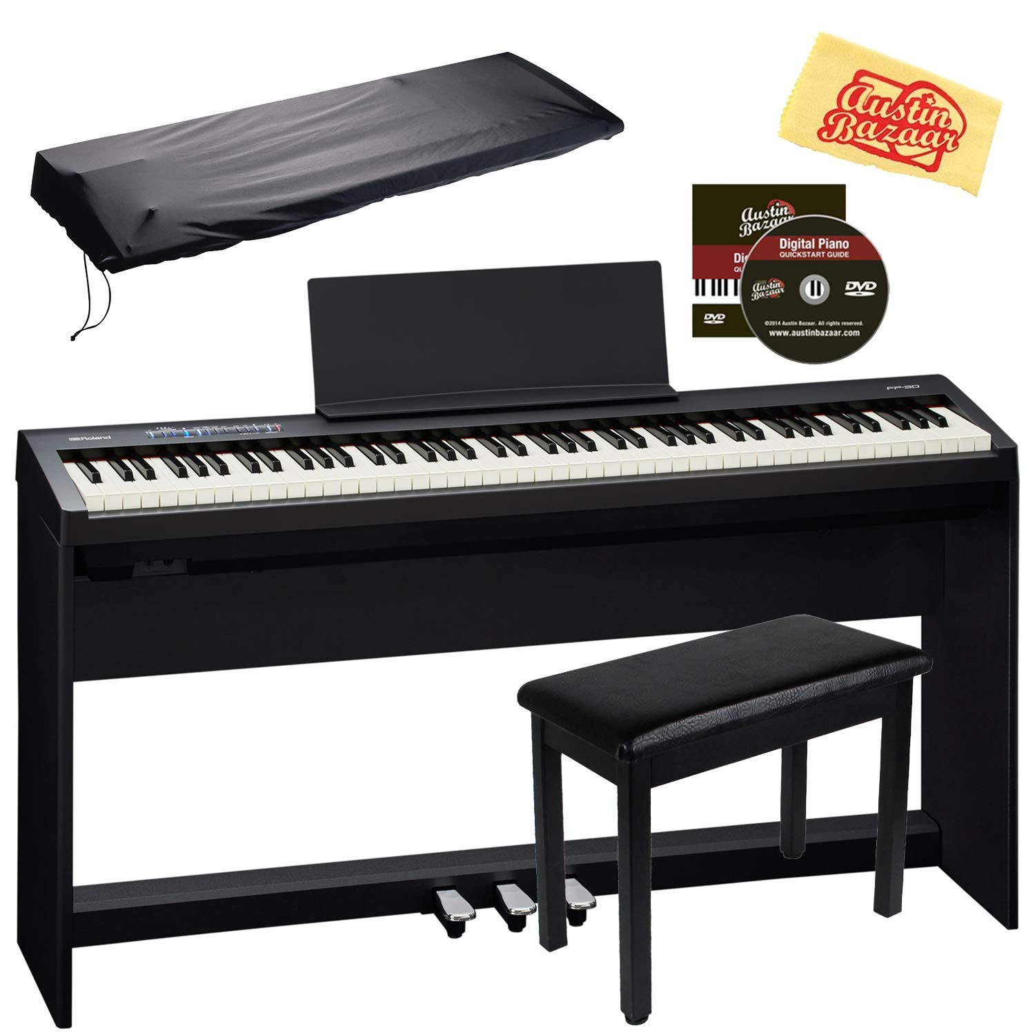 Roland FP-30 Digital Piano Review 2020