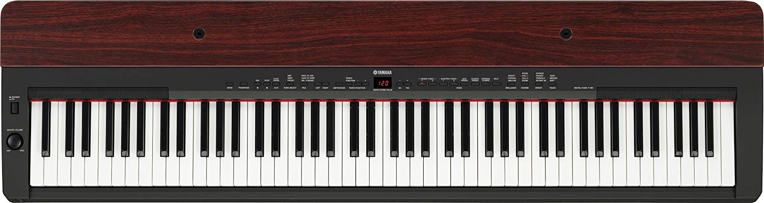 yamaha p 155 digital piano review 2019 new digital piano review. Black Bedroom Furniture Sets. Home Design Ideas
