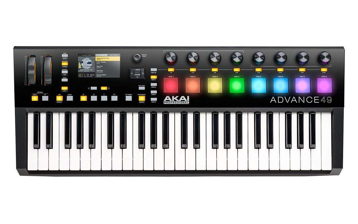 Akai Professional Advance 49 Digital Piano Review 2020