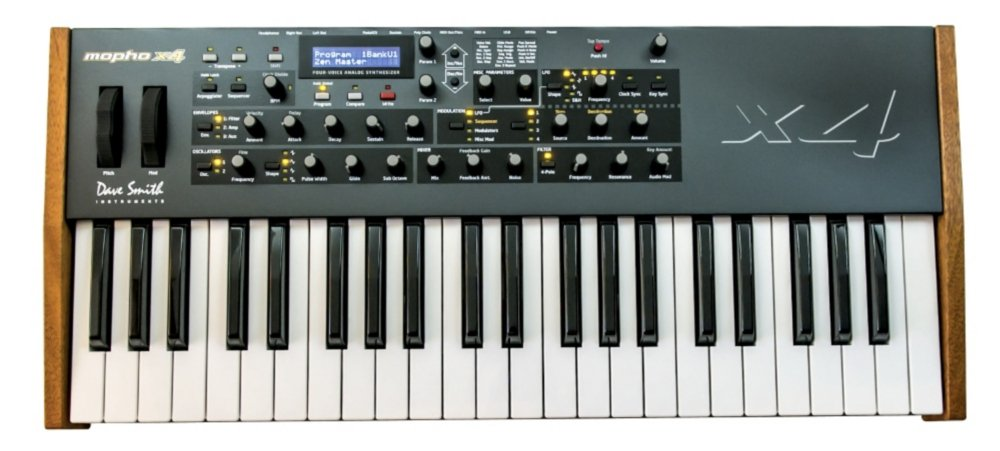 Dave Smith Instruments Mopho x4 Analog Synthesizer Review 2020