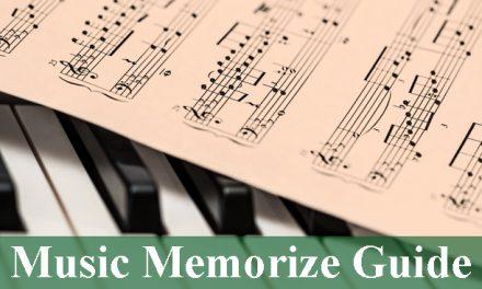 Music Memorize Guide 2021