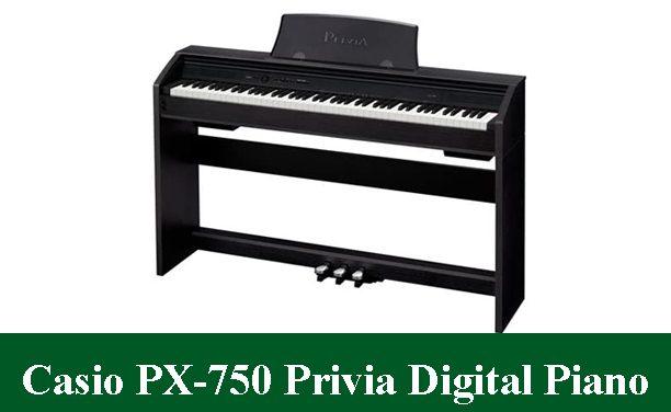 Casio PX-750 Privia Digital Piano Review 2021