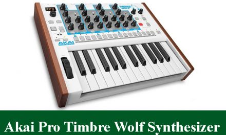Akai Professional Timbre Wolf Analog Polyphonic Synthesizer Review 2021