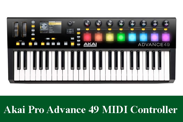 Akai Professional Advance 49 Virtual Instrument Production Controller Review 2021