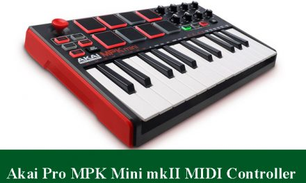 Akai Professional MPK Mini MKII Compact Keyboard and Pad Controller Review 2020