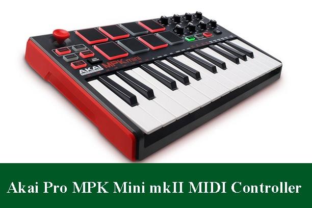 Akai Professional MPK Mini MKII Compact Keyboard and Pad Controller Review 2020