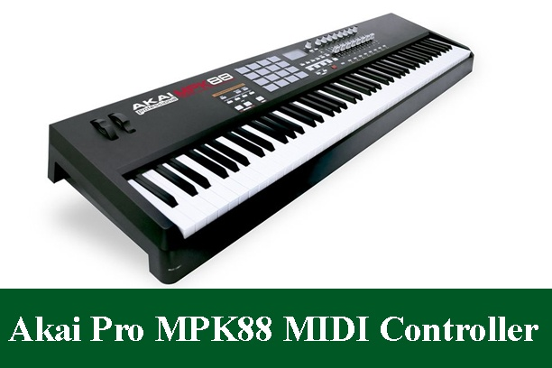 Akai Professional MPK88 Hammer-Action USB MIDI Controller Review 2020