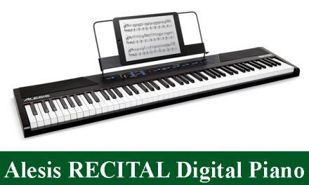 Alesis Recital Beginner Full-Sized Keys Digital Piano Review 2020