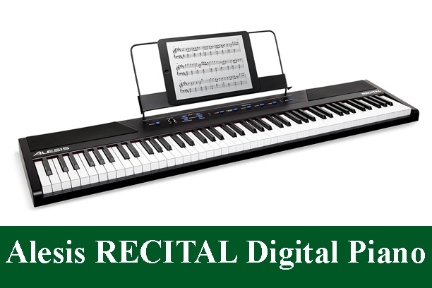 Alesis Recital Beginner Full-Sized Keys Digital Piano Review 2021