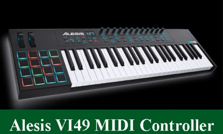 Alesis VI49 Advanced 49-Key USB MIDI Keyboard Controller Review 2020