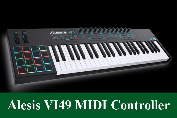 Alesis VI49 Advanced 49-Key USB MIDI Keyboard Controller Review 2020
