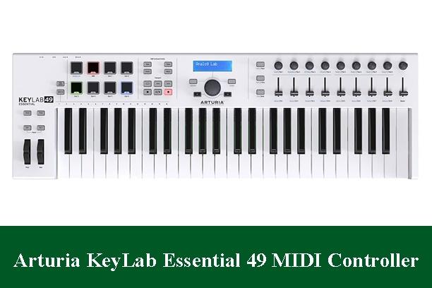 Arturia KeyLab Essential 49 Controller Keyboard Review 2021