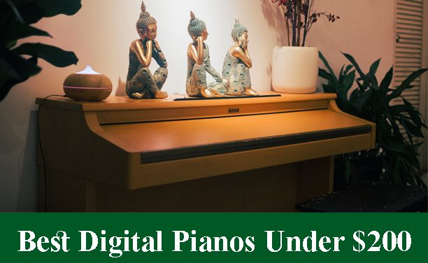 Best Digital Pianos & Keyboards Under $200 Reviews 2020