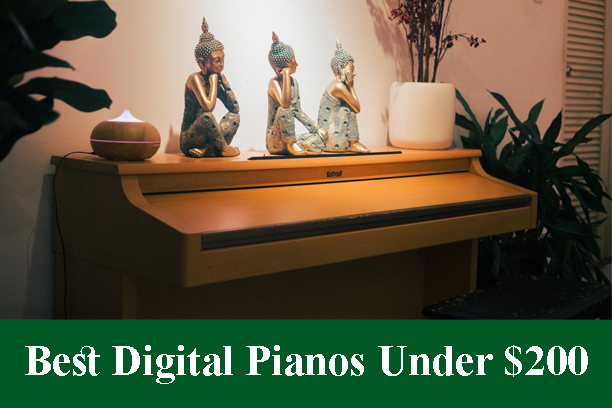 Best Digital Pianos & Keyboards Under $200 Reviews 2021