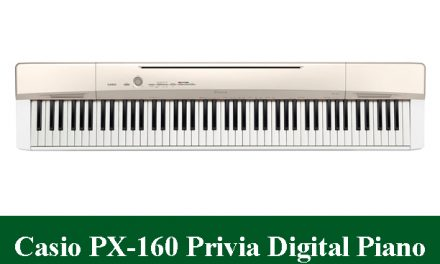 Casio PX-160 Privia Digital Piano Review 2020