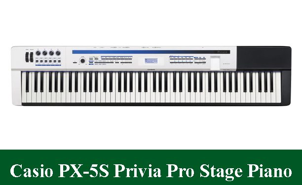 Casio PX-5S 88-Key Privia Pro Digital Stage Piano Review 2020