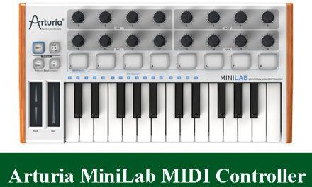 Arturia MiniLab Mini USB MIDI Keyboard Controller Review 2021