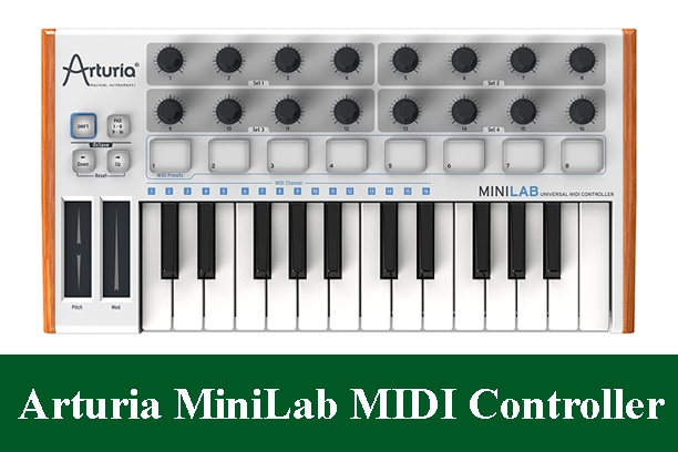 Arturia MiniLab Mini USB MIDI Keyboard Controller Review 2021