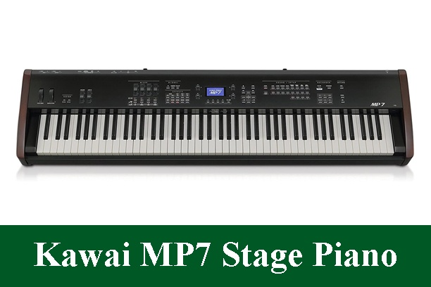Kawai MP7 Professional Digital Stage Piano Review 2021