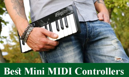 Best 25-Key Mini MIDI Controllers Reviews 2021