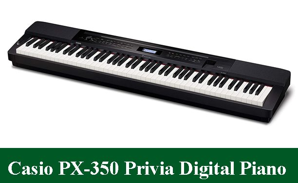 Casio PX-350 Privia Digital Piano Review 2020