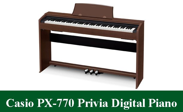 Casio PX-770 Privia Digital Piano Review 2020