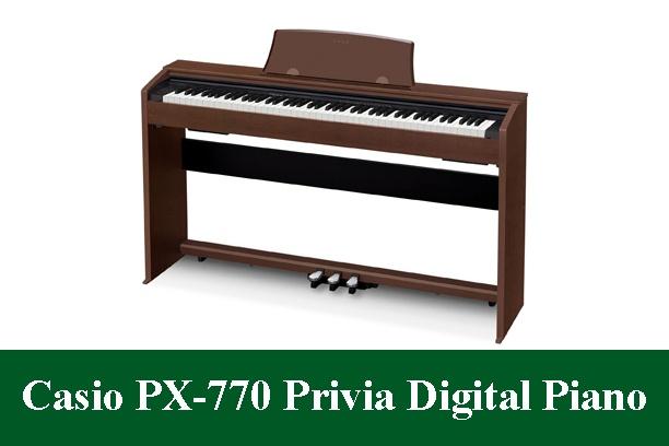 Casio PX-770 PriviaDigital Piano Review 2020