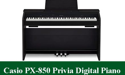 Casio PX-850 Touch Sensitive Privia Digital Piano Review 2021