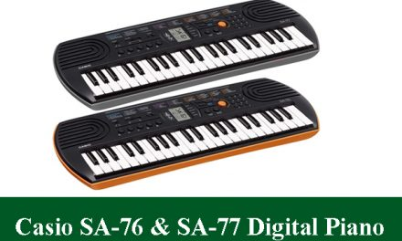 Casio SA-76 & Casio SA-77 Digital Piano Review 2021