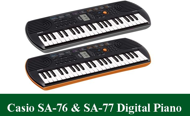 Casio SA-76 & Casio SA-77 Digital Piano Review 2020