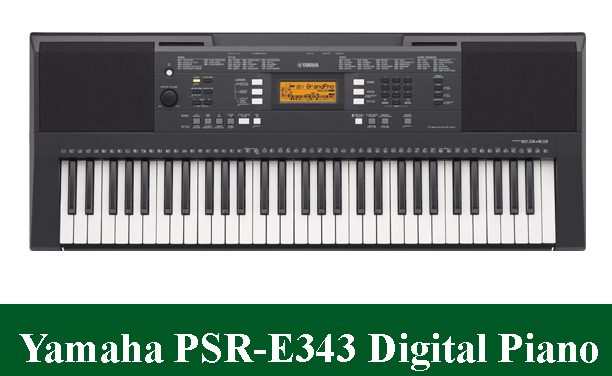 Yamaha PSRE-343 Digital Piano Review 2021