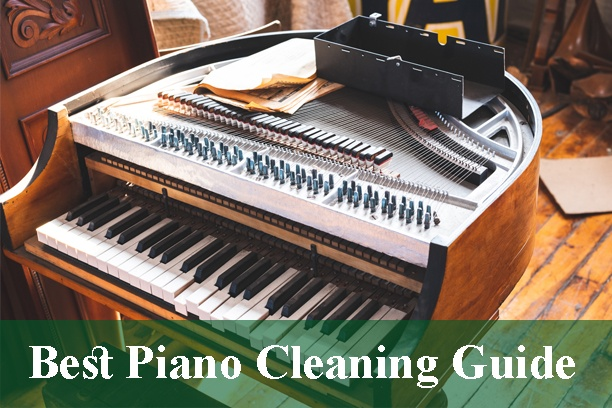Piano Keys and Keyboards Cleaning Guide 2021
